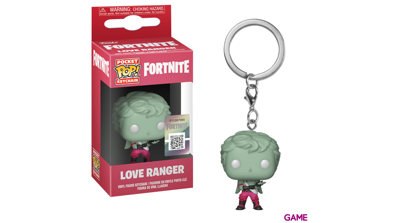 Llavero Pop Fortnite: Love Ranger