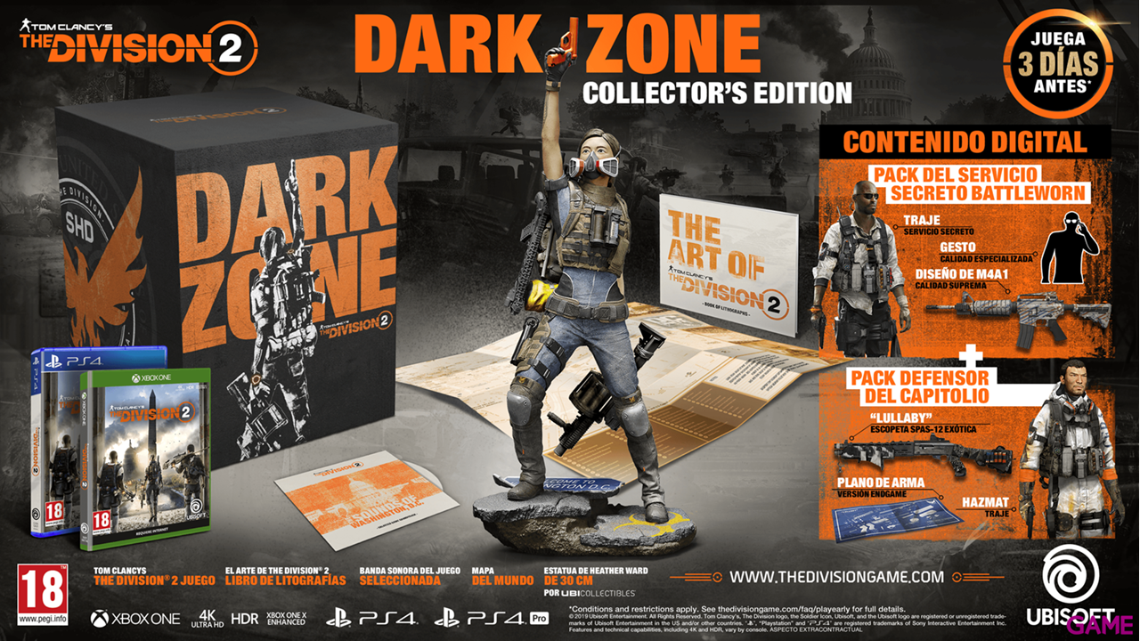 The Division 2 Dark Zone Edition