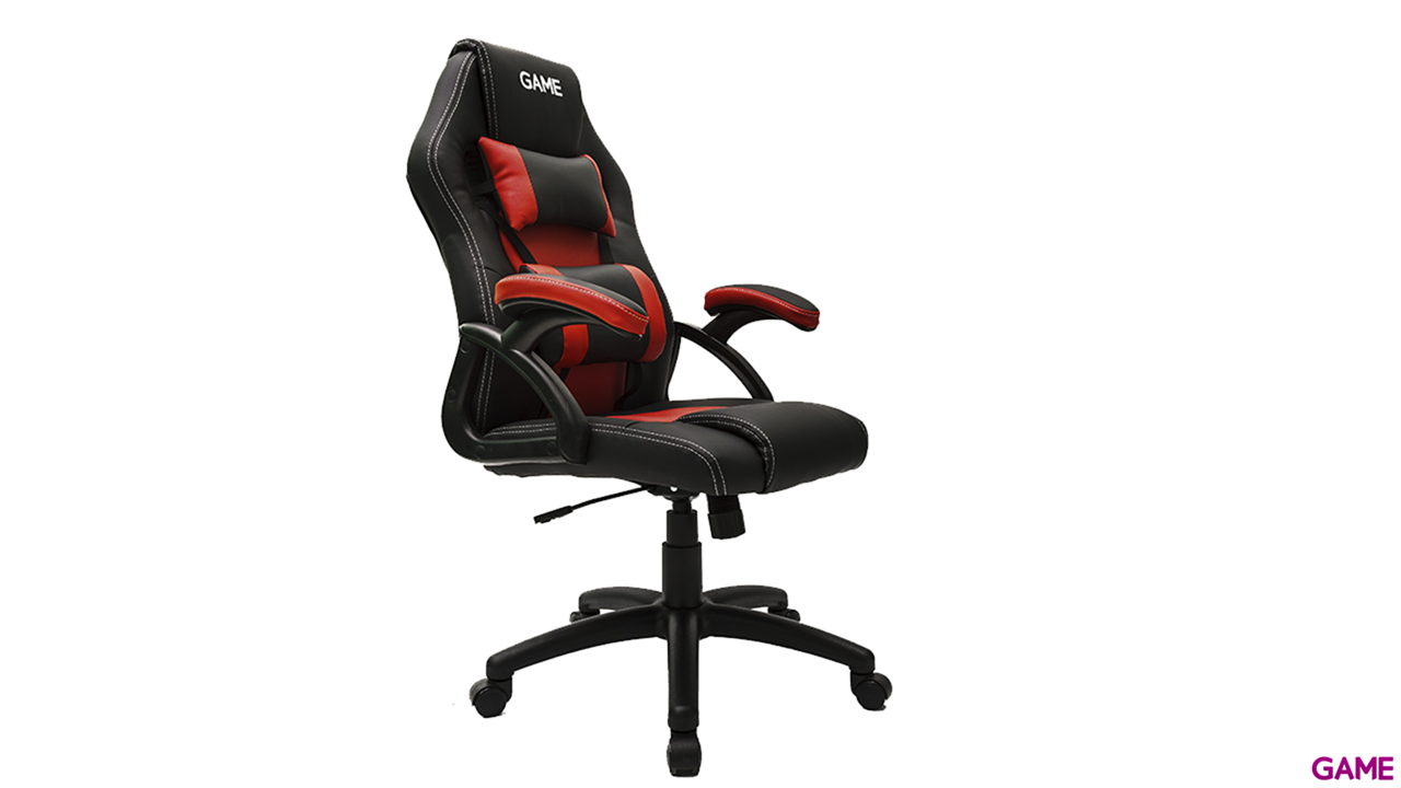 GAMEware Racing Rojo-Negro Silla Gaming