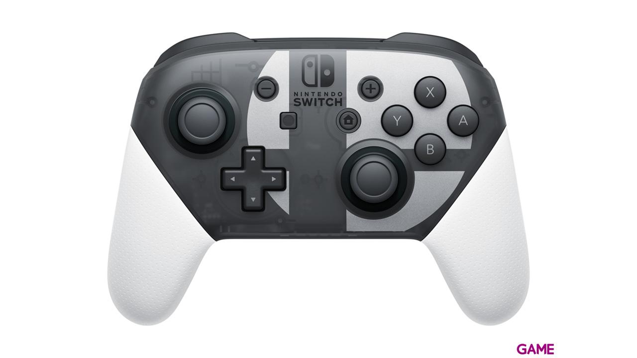 Nintendo Switch Pro-Controller + Cable USB - Edición Smash Bros