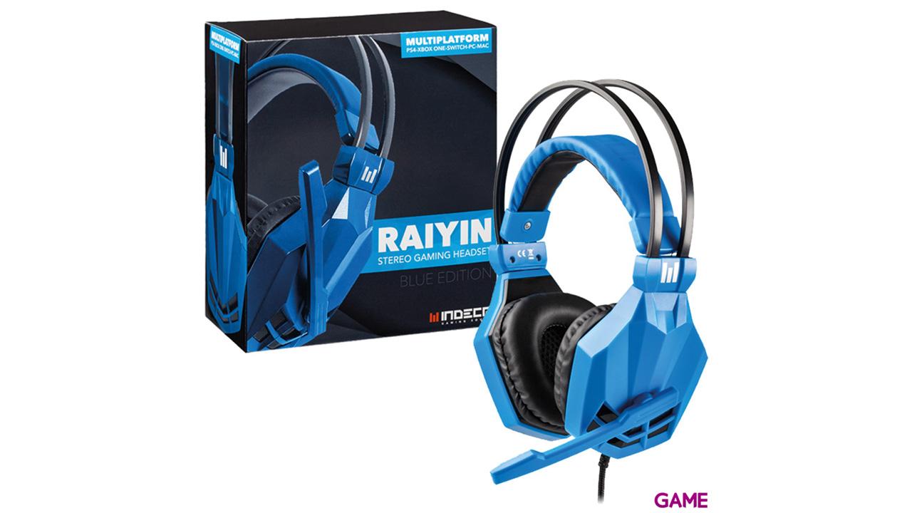 Auriculares Raiyin Azul Indeca Sound PS4-XONE-NSW-PC