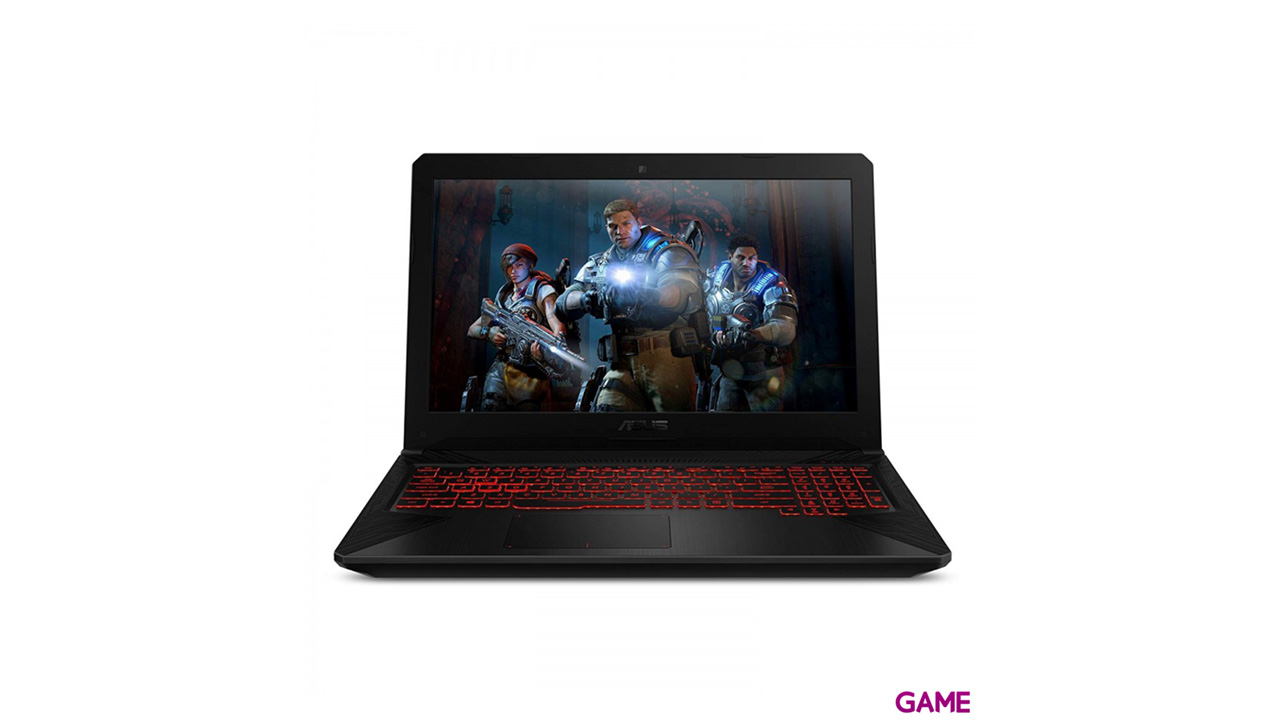ASUS FX504GM-EN125T - i7-8750H - GTX 1060 6GB - 16GB - 1TB HDD + 128GB SSD - 15,6'' FHD - W10 - Portátil Gaming