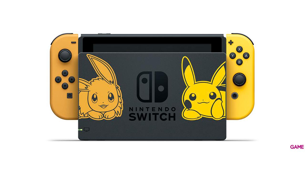 Nintendo Switch Edición Pokémon - Let's Go Pikachu + Poké Ball Plus
