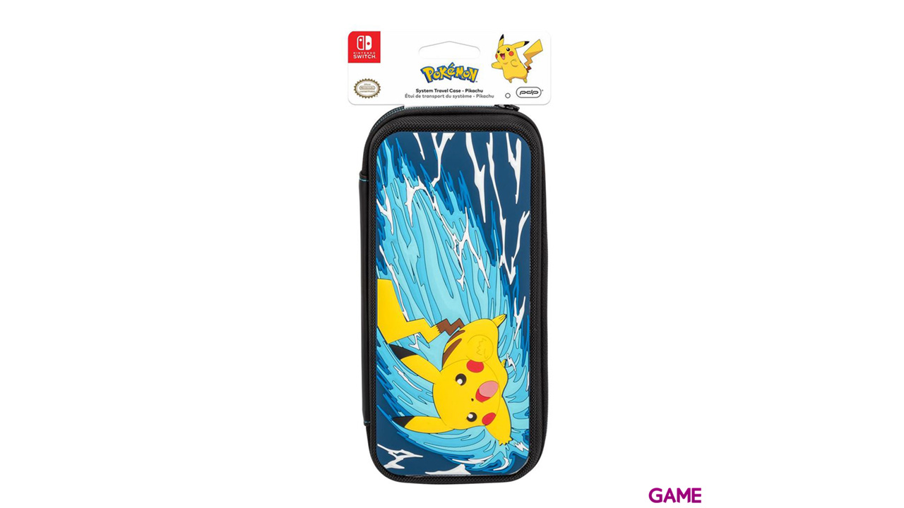 Funda Deluxe para Nintendo Switch PDP Pikachu Battle Edition -Licencia oficial-