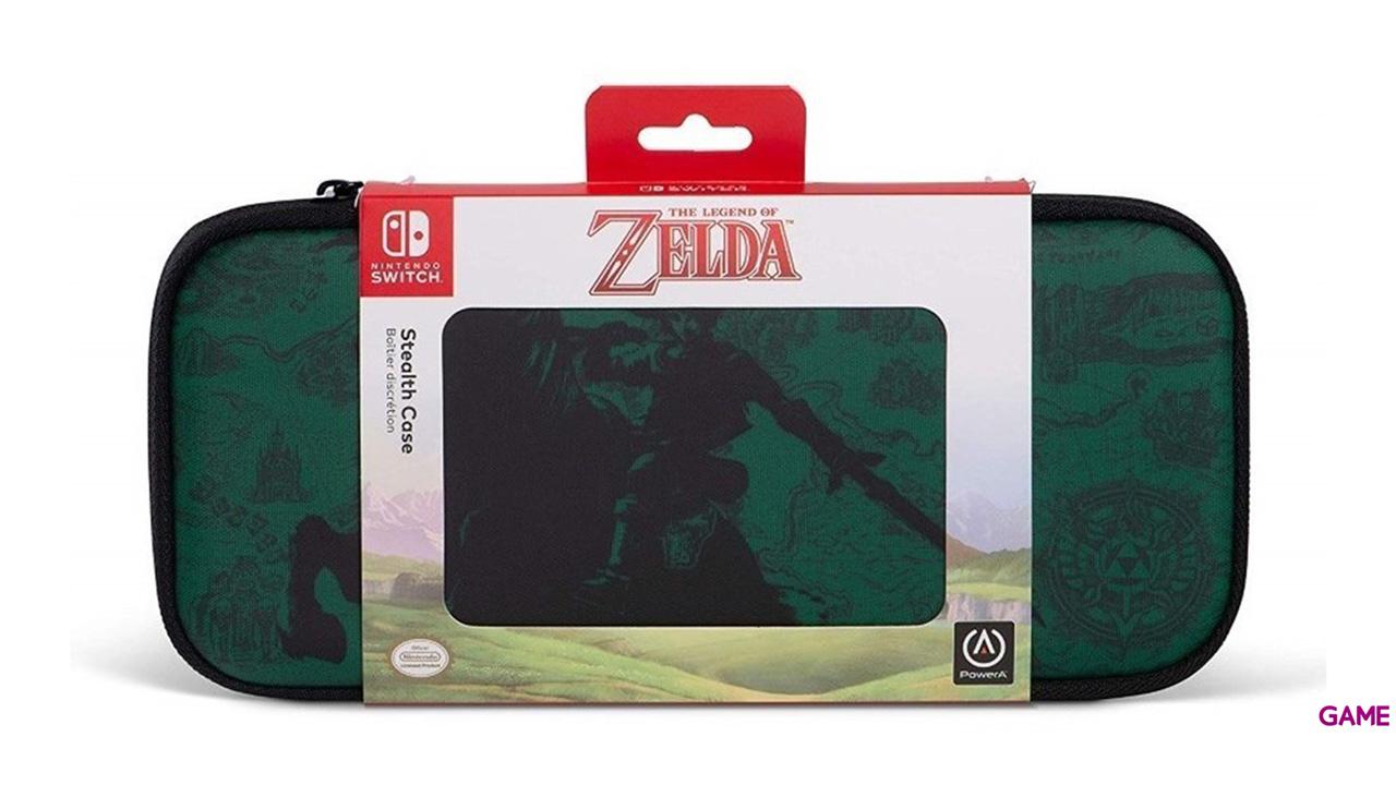 Funda Slim para Nintendo Switch PowerA Zelda -Liencia oficial-