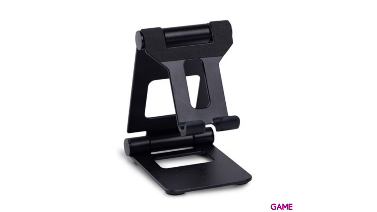 Soporte Metálico Negro para Nintendo Switch -Licencia oficial-