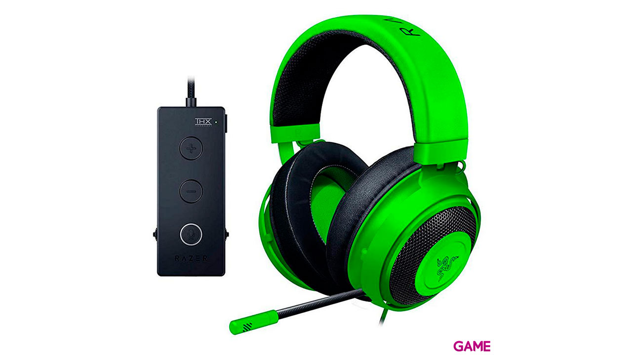 Razer Kraken Tournament Edition Verde PC-PS5-PS4-XBOX-SWITCH-MAC-MOVIL - Auriculares Gaming
