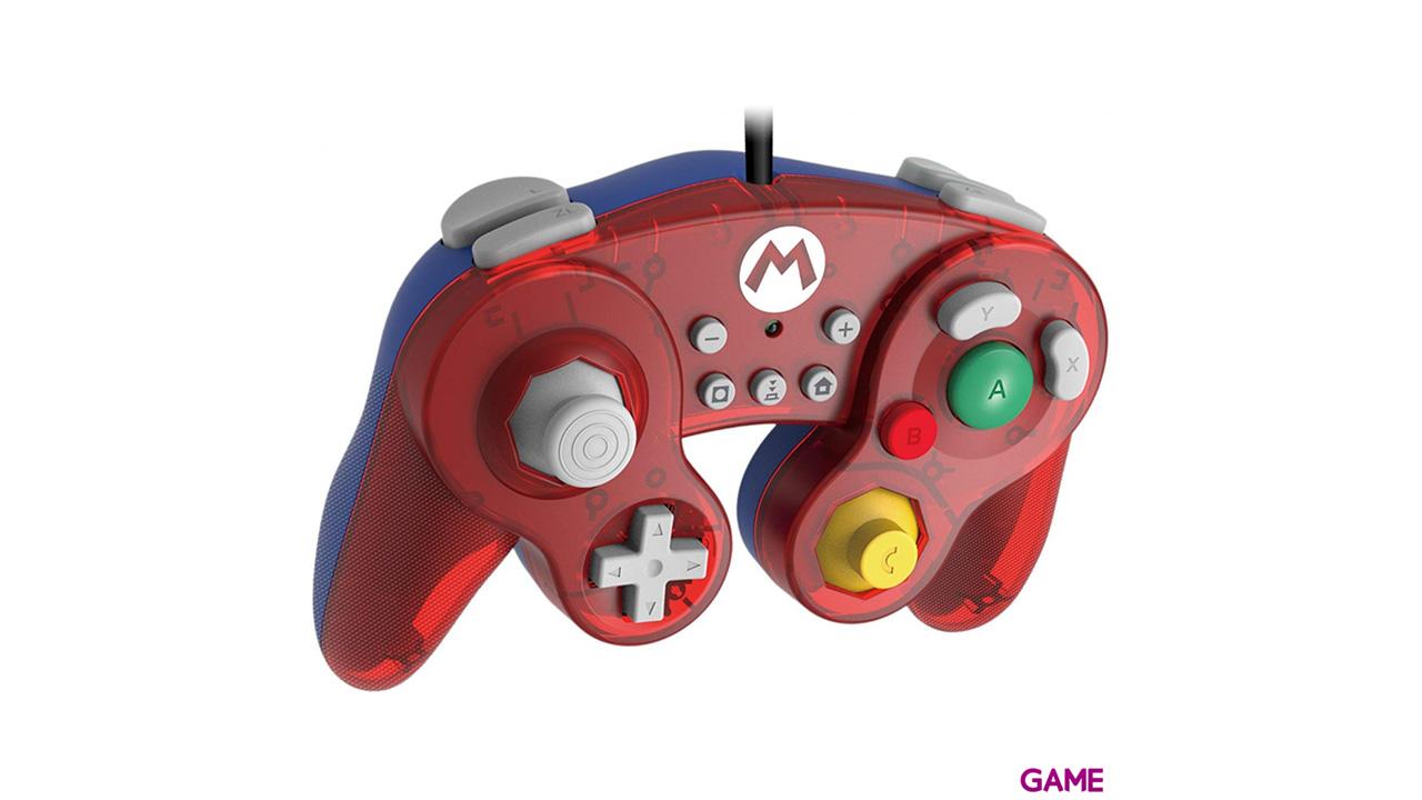 Controller con Cable Hori Super Mario Ed. Super Smash Bros -Licencia oficial-