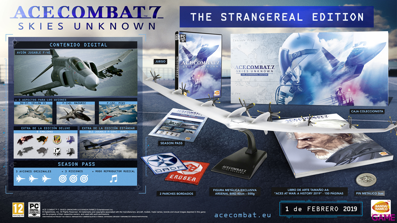 Ace Combat 7: Skies Unknown The Strangereal Edition