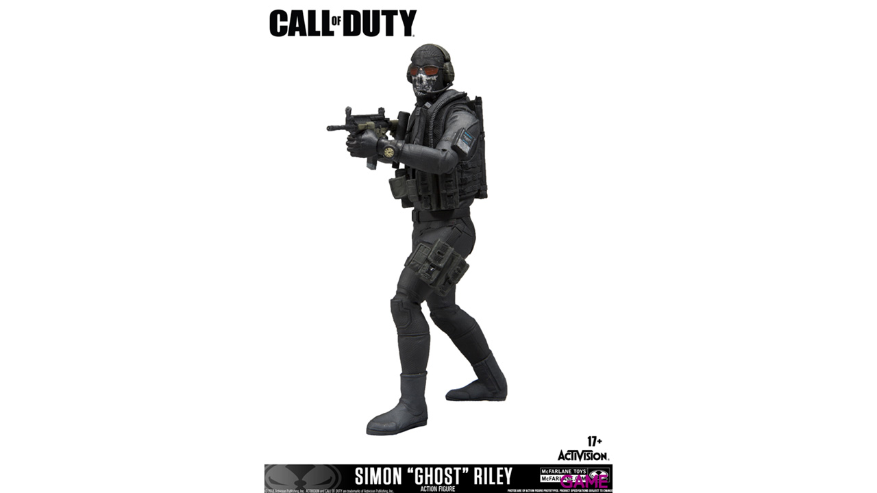 Figura 18 Cm Riley Call Of Duty
