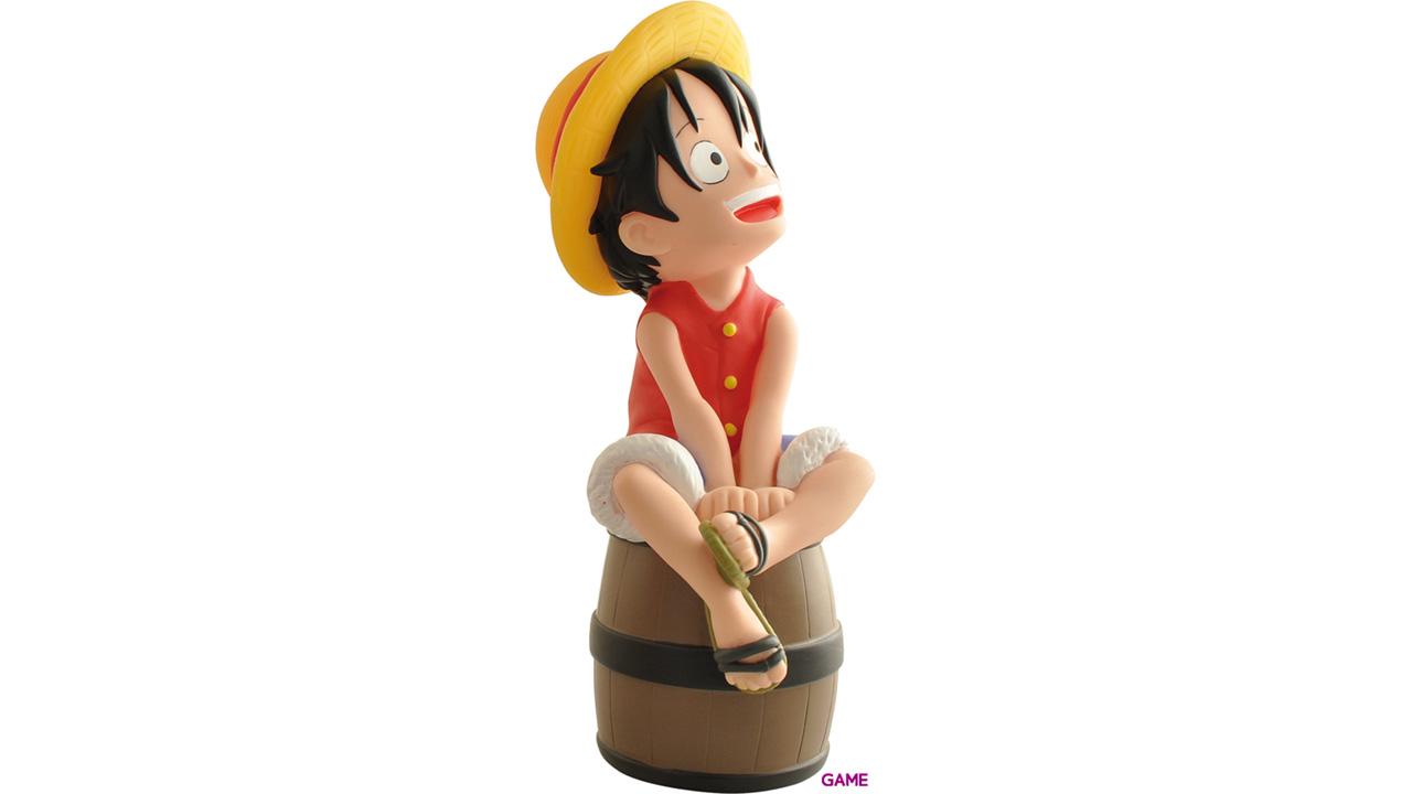 Hucha One Piece: Luffy en Barril