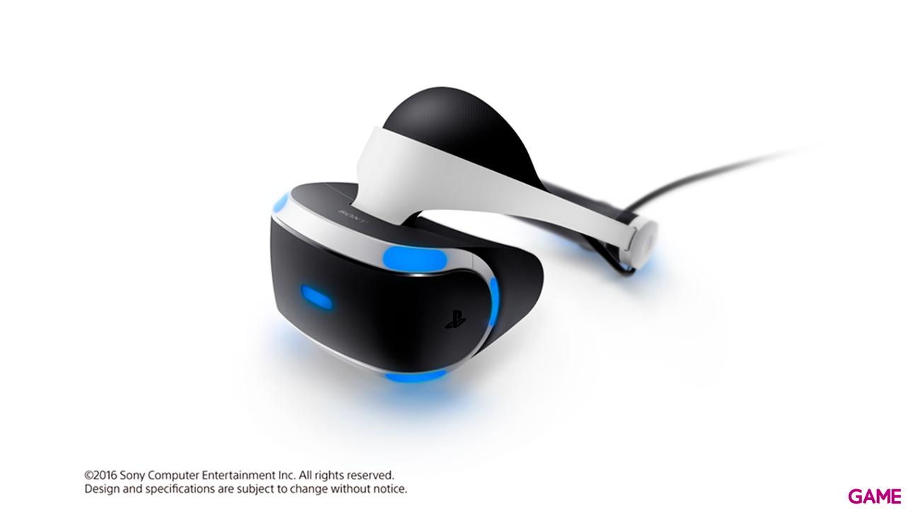 Playstation VR + Cámara 2.0 + Voucher VR Worlds MK4