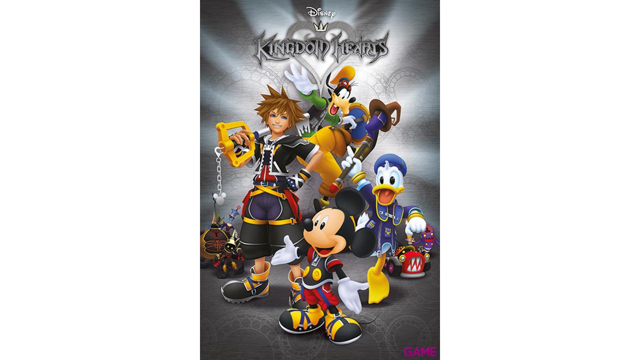Póster Kingdom Hearts