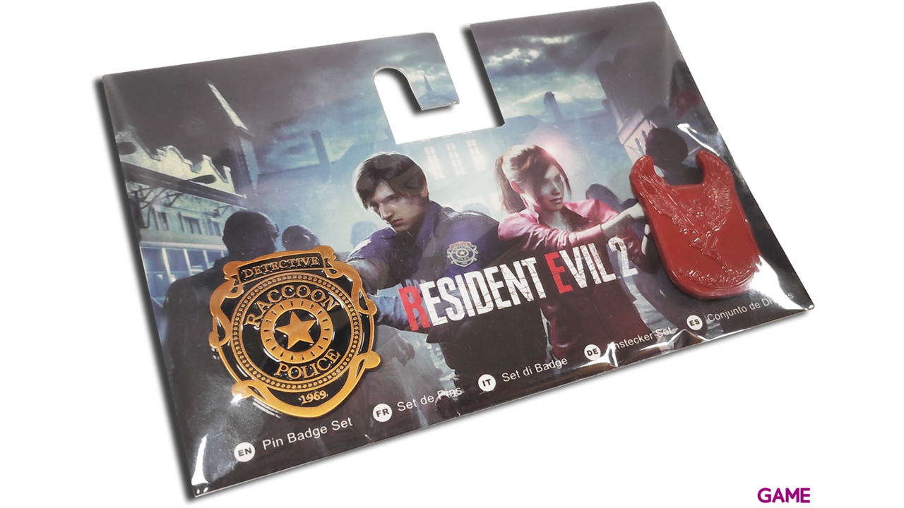 Set de Pins Resident Evil 2