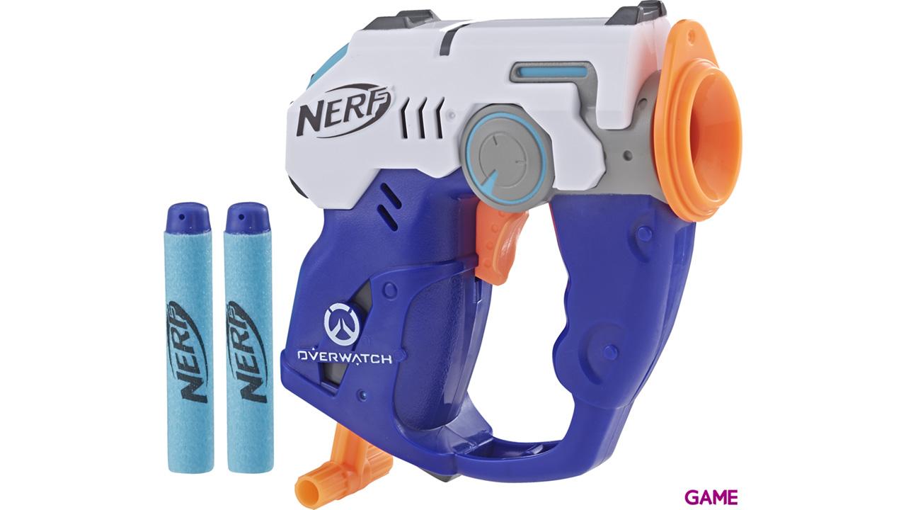 Pistola Nerf Microshots Overwatch: Tracer