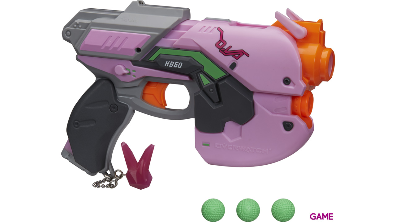 Pistola Nerf Rivals Overwatch: D.Va