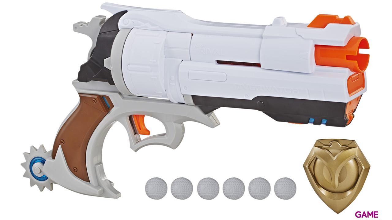 Pistola Nerf Rivals Overwatch: McCree