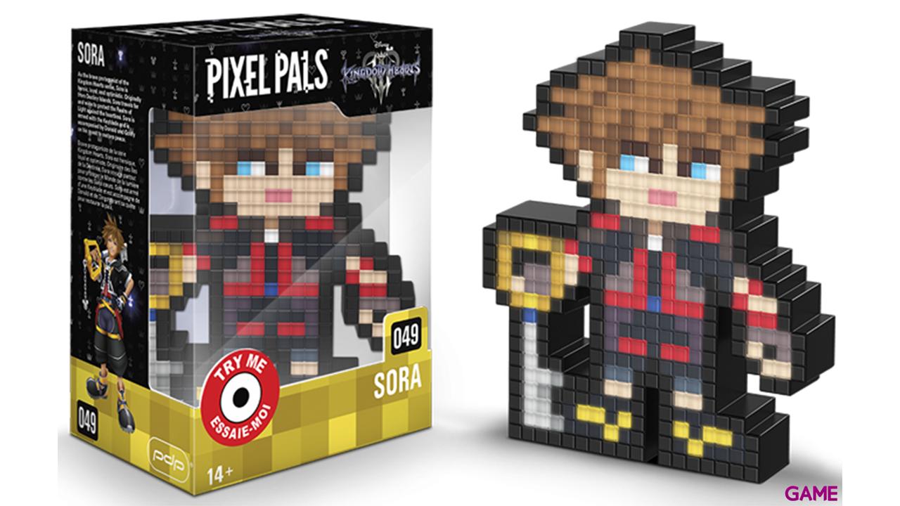 Figura Pixel Pals Kingdom Hearts: Sora