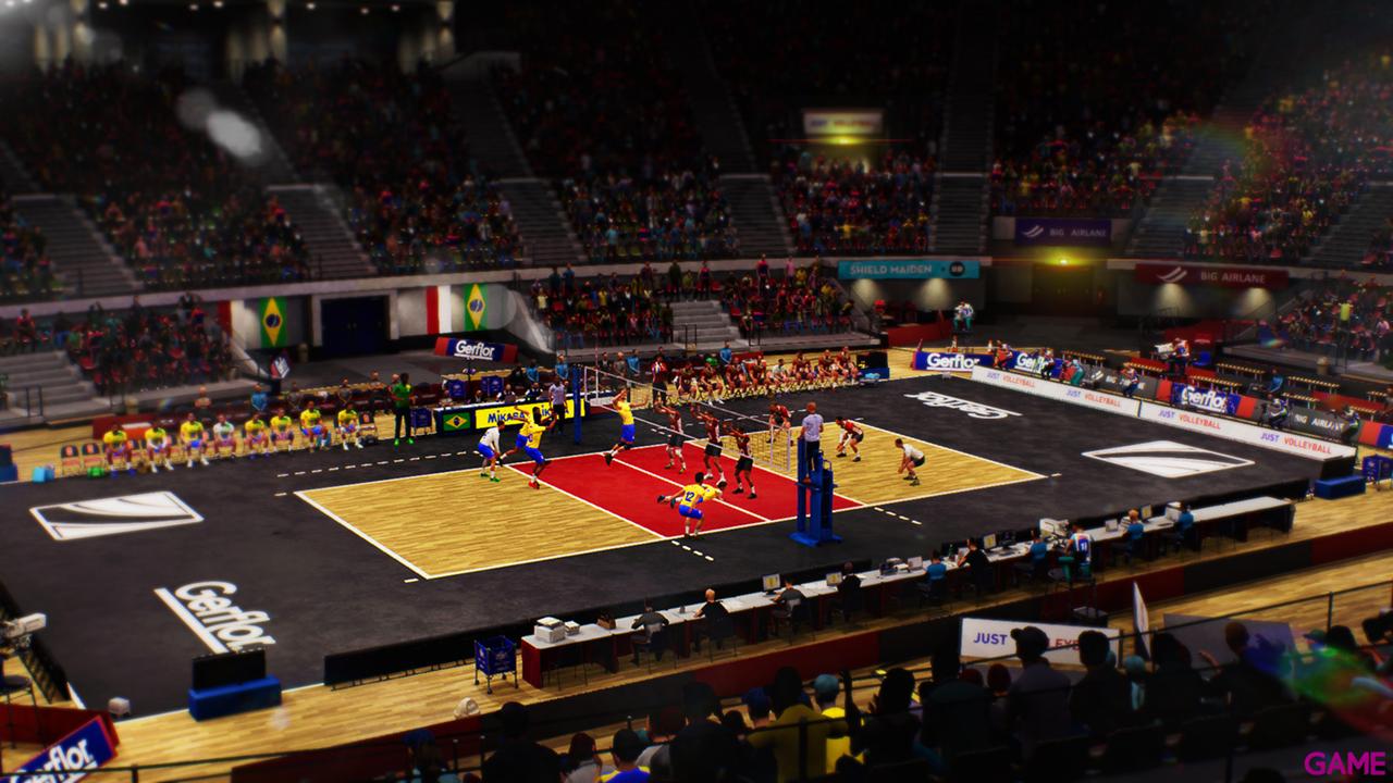 Spike Volleyball