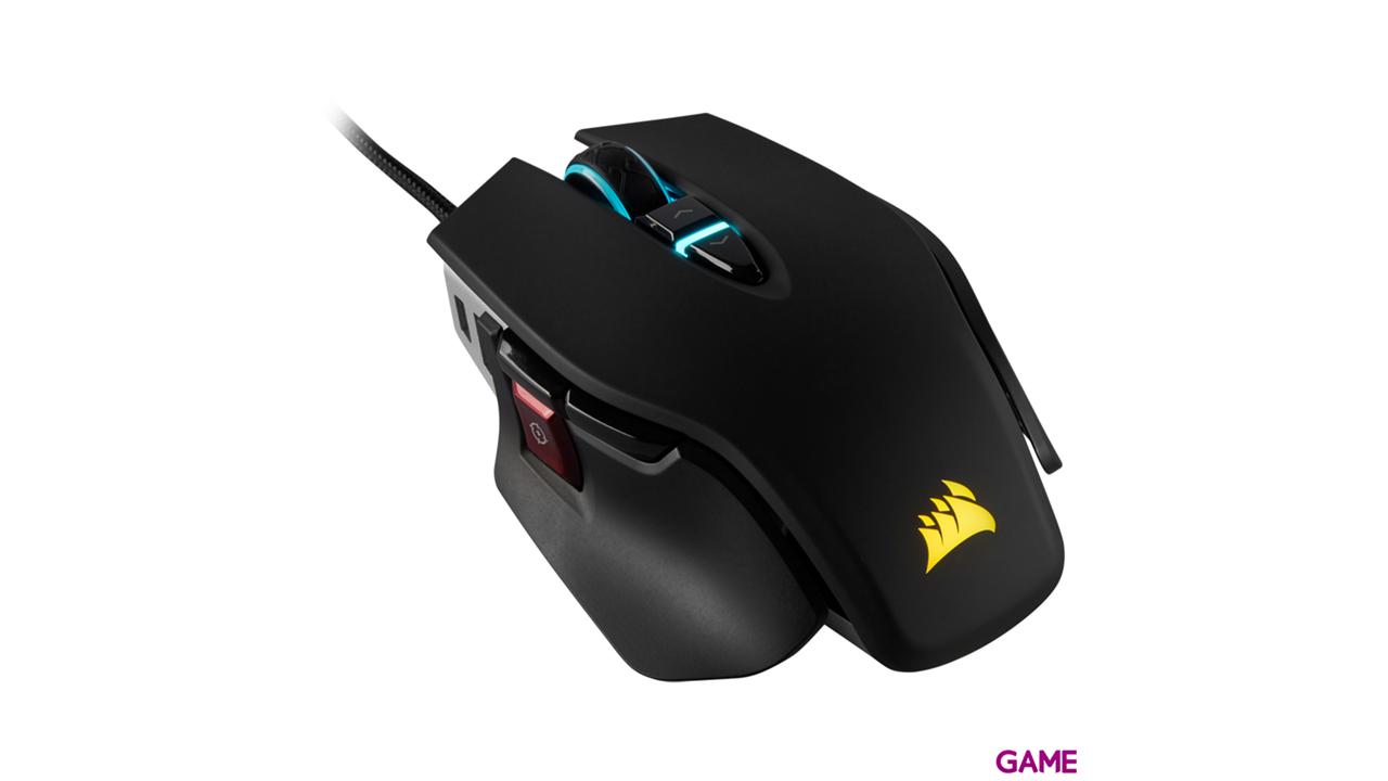Corsair M65 ELITE RGB  Black 18000 DPI - Ratón Gaming