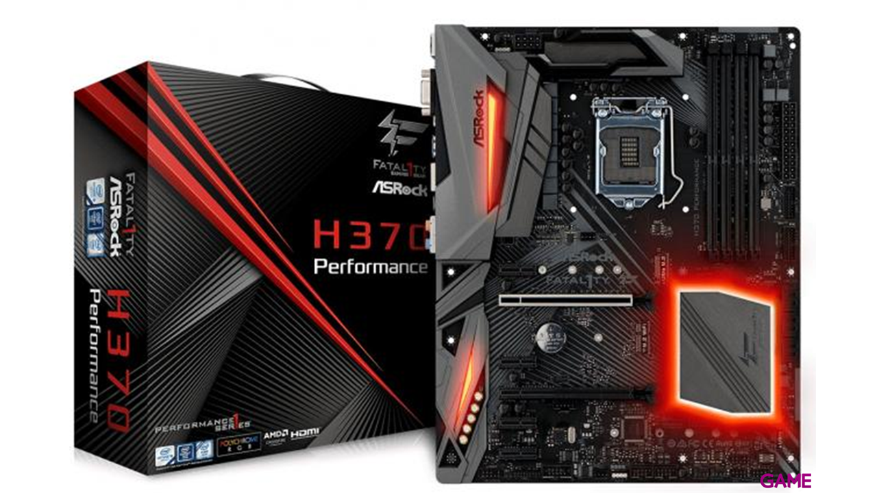 ASRock Fatal1ty H370 Performance - Placa Base ATX LGA1151