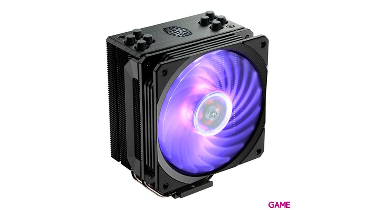 Cooler Master Hyper 212 RGB Black Edition - Disipador de CPU RA120mm