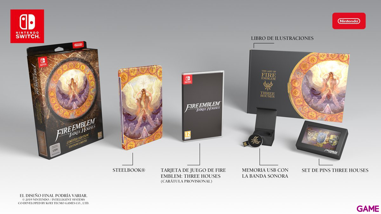 Fire Emblem Three Houses - Coleccionista