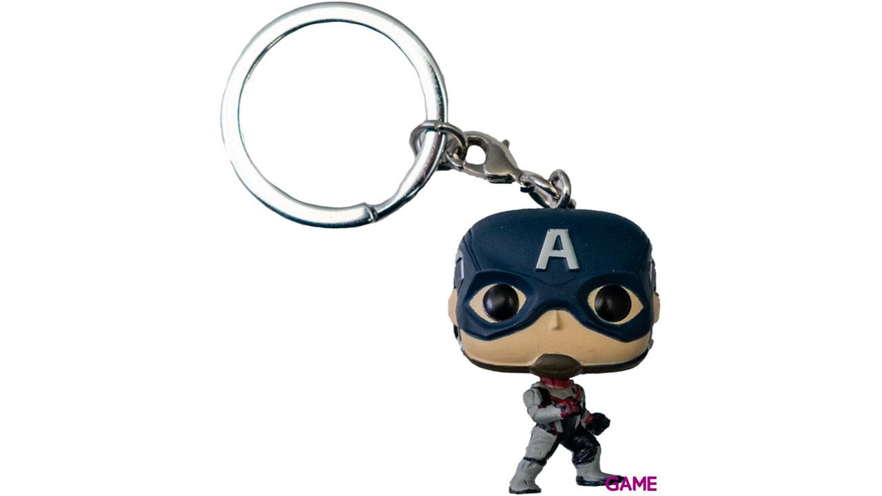 Llavero Pop Vengadores Endgame: Capitán América