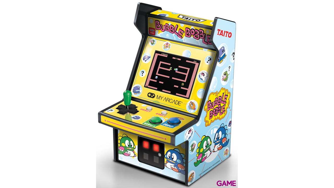 Consola Retro My Arcade Bubble Bobble