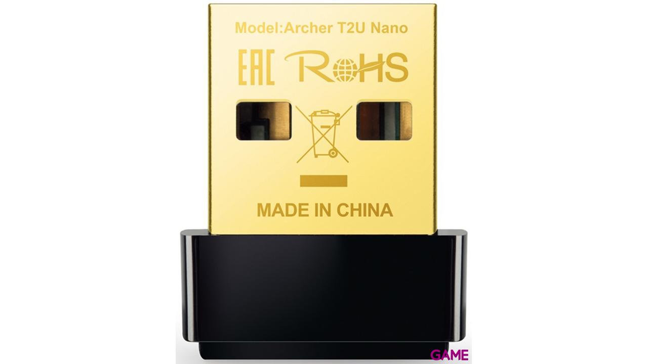 TP-Link Archer T2U Nano - Adaptador WiFi