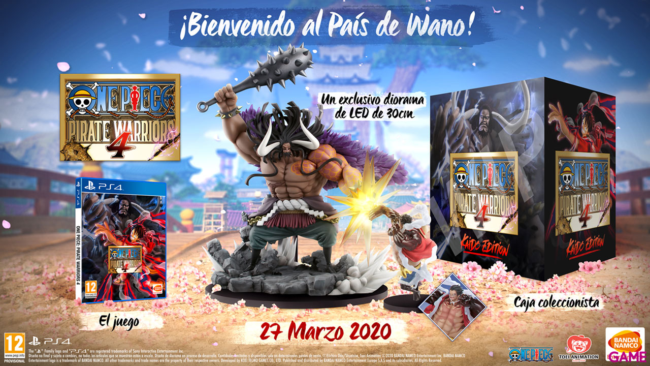 One Piece Pirate Warriors 4 Kaido Edition