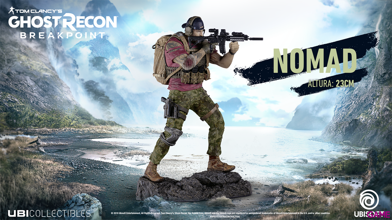 Ghost Recon Breakpoint Merch Nomad Figurine