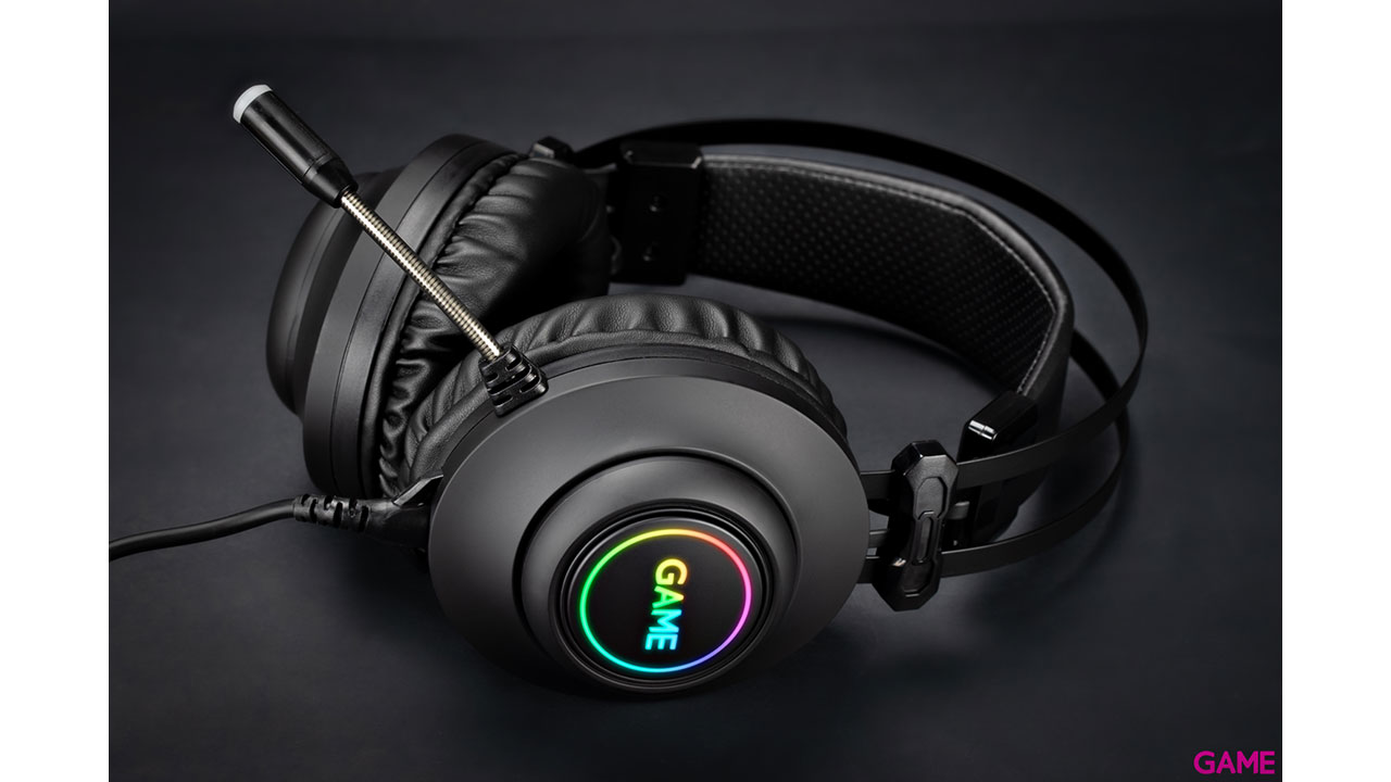 GAME HX500 RGB 7.1 PRO Gaming Headset PC-PS4 - Auriculares - Auriculares Gaming