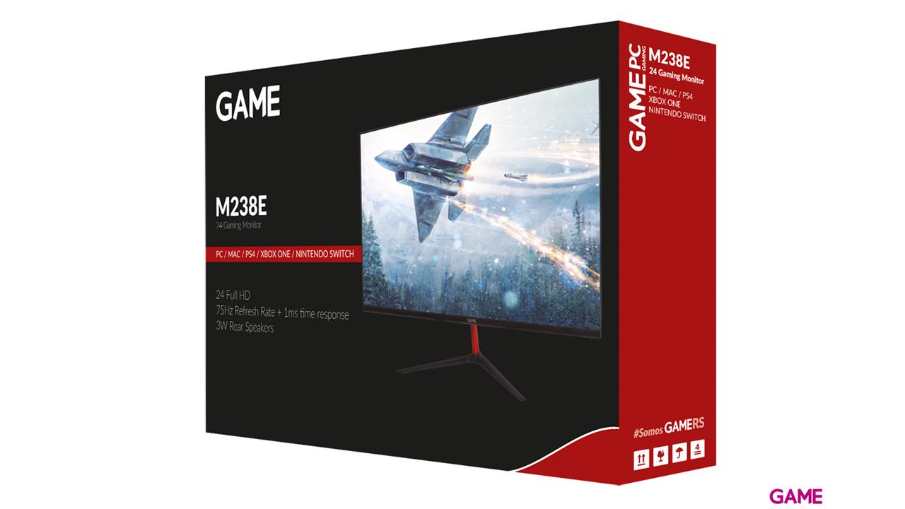GAME M238E 24'' TN FHD 75Hz con Altavoces - Monitor Gaming
