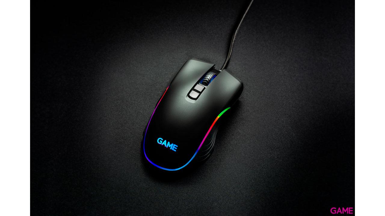 GAME MX400 6400 dpi RGB - Raton Gaming