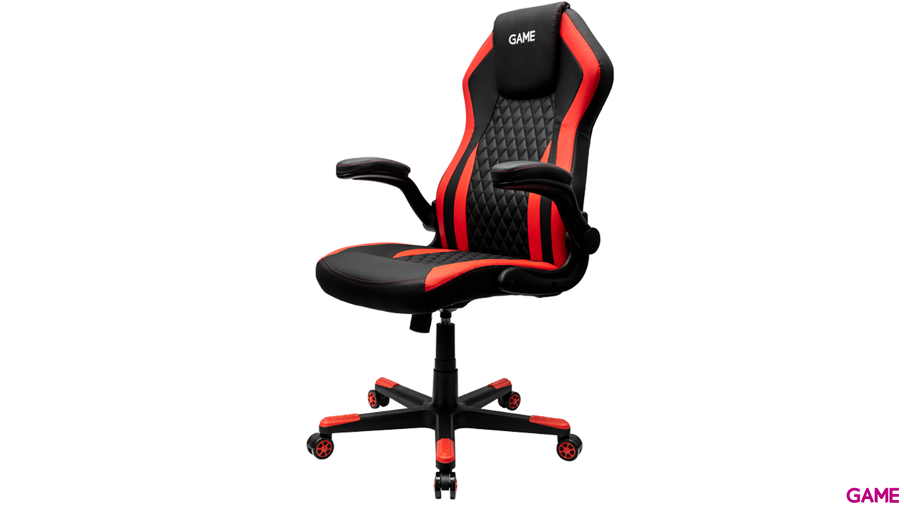 GAME Racing GT200 Rojo-Negro - Silla Gaming