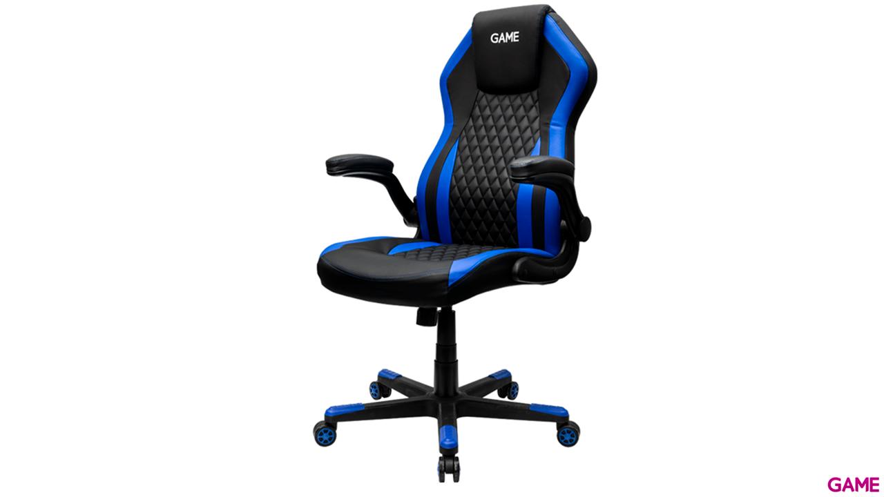 GAME Racing GT200 Azul-Negro - Silla Gaming