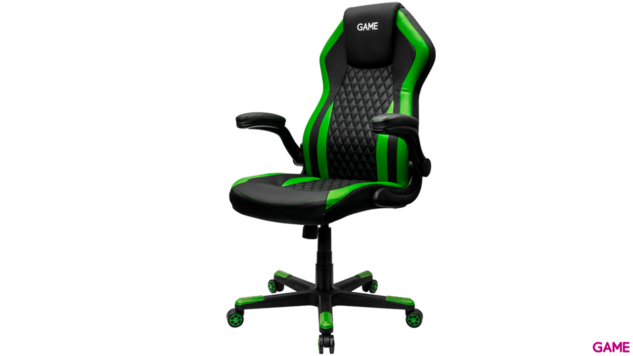 GAME Racing GT200 Verde-Negro - Silla Gaming