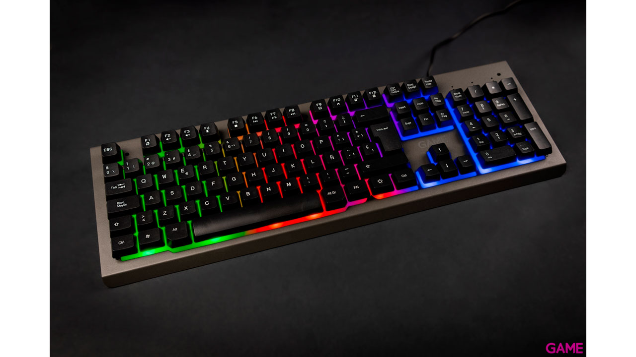 GAME KX300 RGB Semi-mecanico - Teclado Gaming