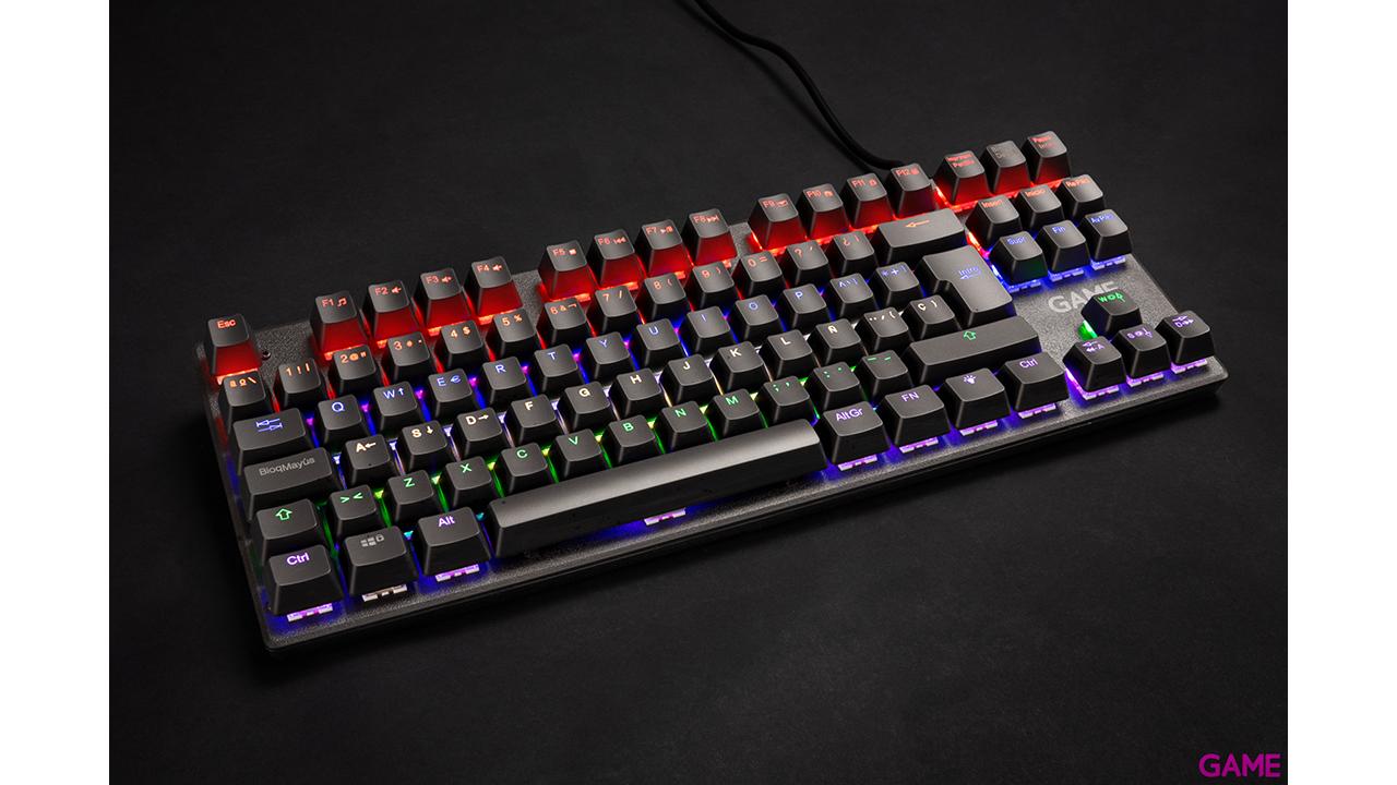 GAME KX410 TKL Mecánico RGB  - Teclado Gaming