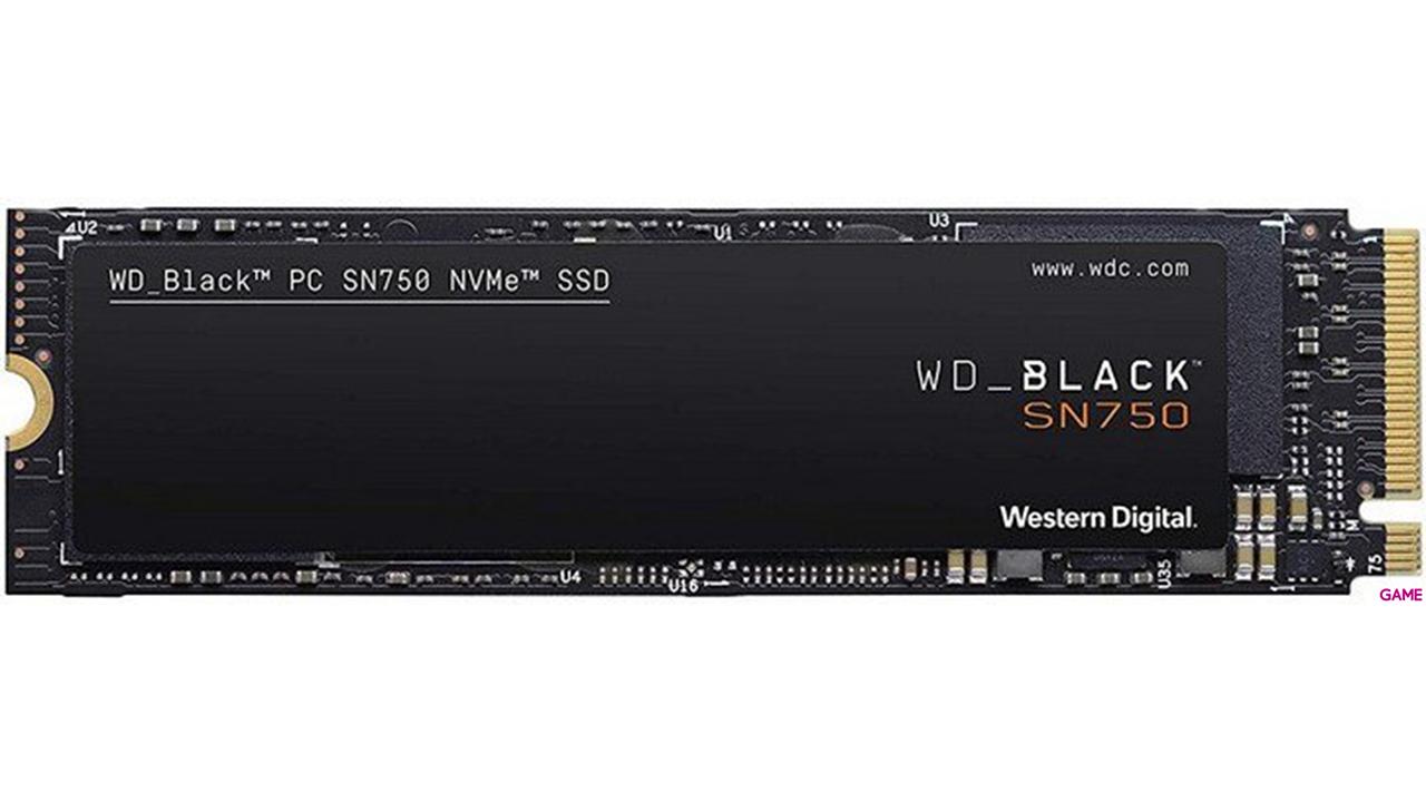 WD Black SN750 1TB M.2 2280 NVMe SSD - Disco Duro Interno