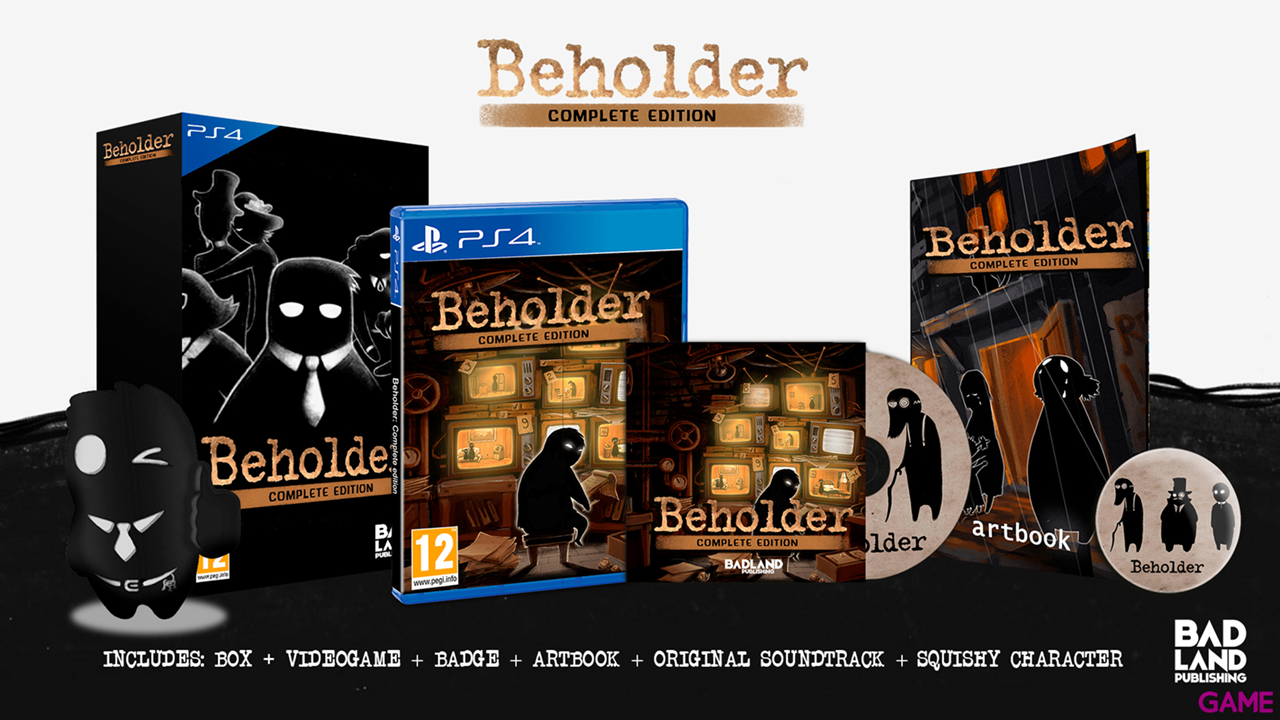 Beholder CE: Collector's Edition