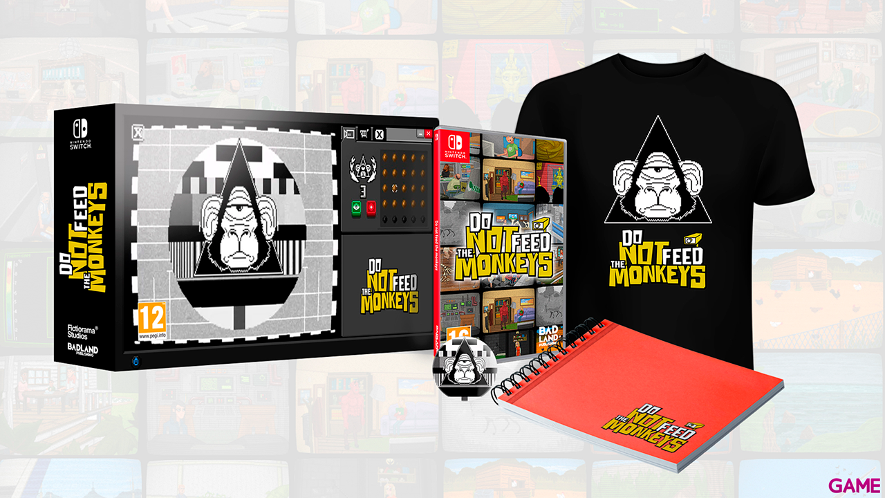 Do not Feed the Monkeys: Collector's Edition