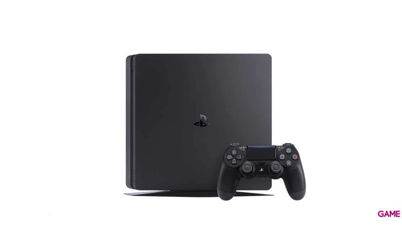PlayStation 4 Slim 500Gb Negra  + Fortnite