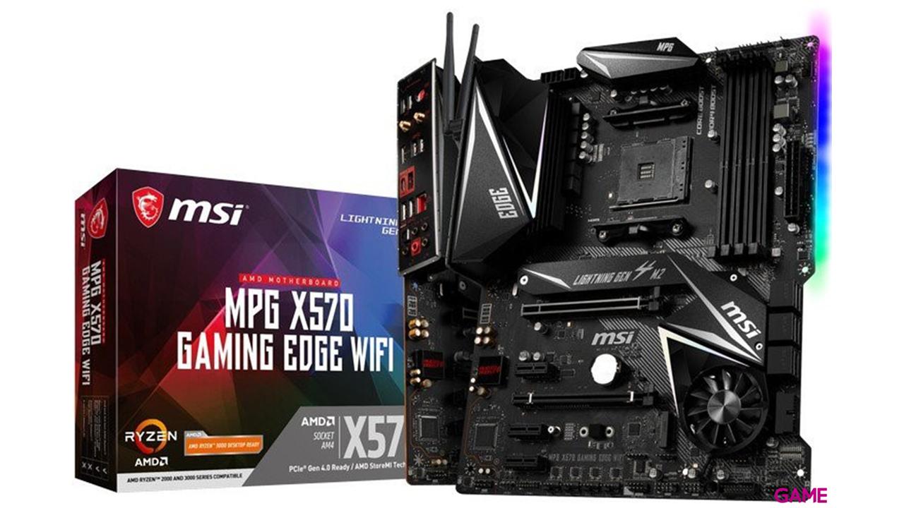 MSI MPG X570 GAMING EDGE WiFi - Placa Base ATX AM4