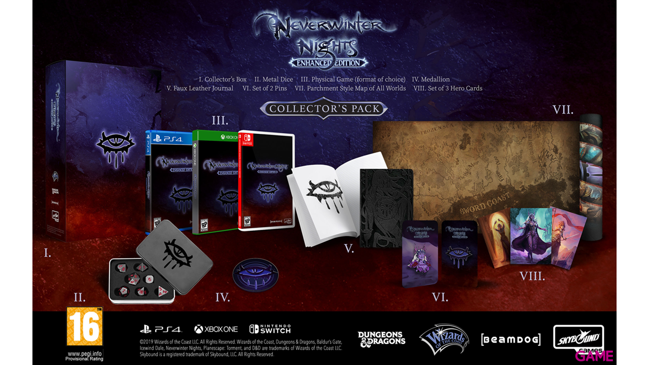 NeverWinter Nights Enhanced Edition Edicion Coleccionista