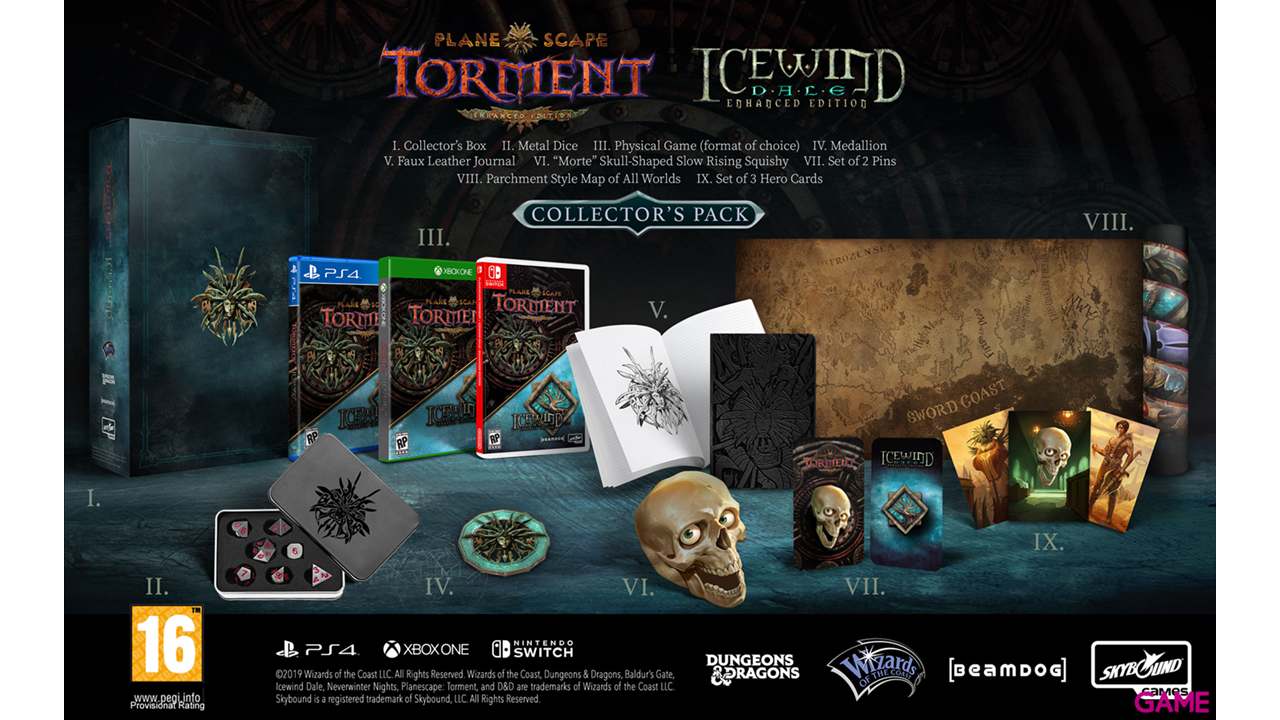 Icewind Dale Enhanced Edition Edición Colecionista
