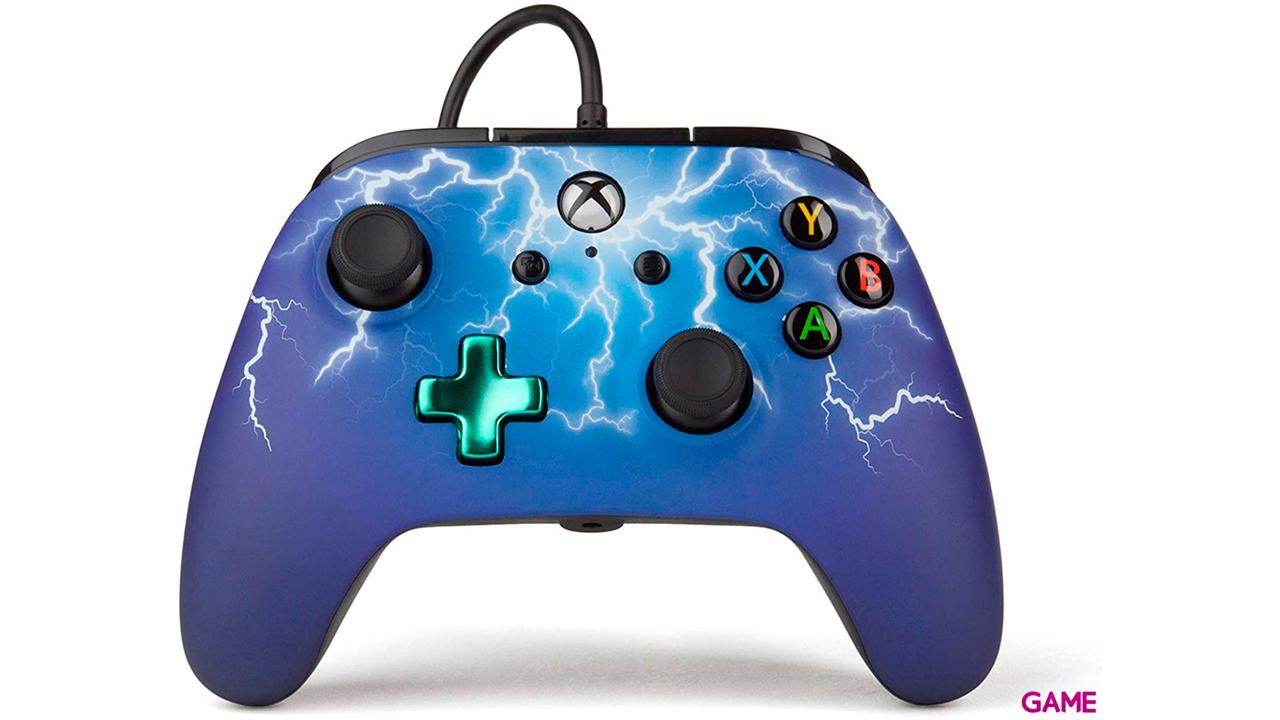 Controller con Cable PowerA Spider Lightning -Licencia oficial-