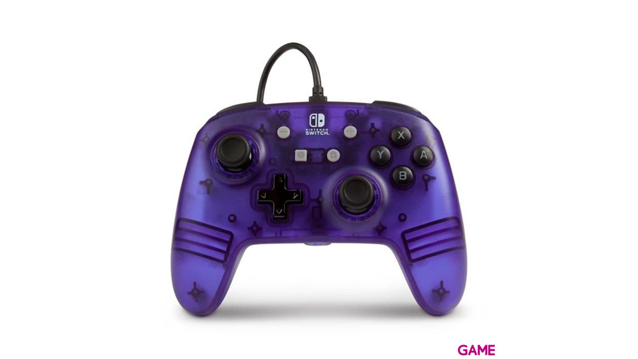 Controller con Cable PowerA Purple -Licencia oficial-