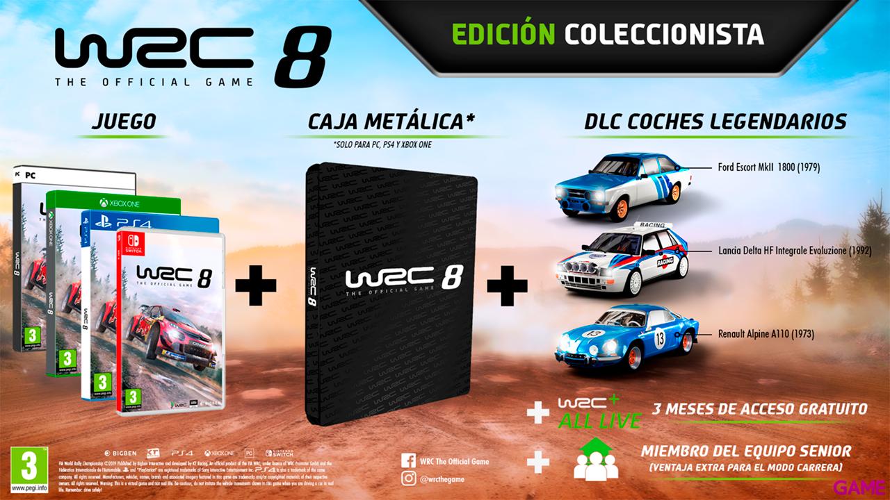 WRC 8 Edición Coleccionista